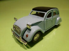 WELLY 9046 CITROEN 2CV 6 2CV - 1:32? - PULL BACK - RARE SELTEN - GOOD CONDITION