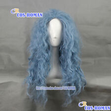 Into the Woods a witch Cosplay Wig costume smoke Blue colour 360C