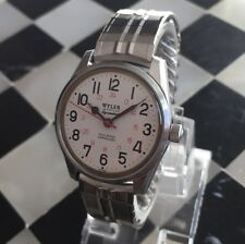 Wyler wh250a automatic railroad approved Incaflex dynawind men's watch works