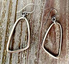 Retired Silpada Sterling Silver Dangle French Wire Earrings W1112