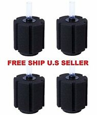 4 PCS Aquarium Bio Sponge Filter Breeding Fry Betta Shrimp Fish Tank XY380 LARGE
