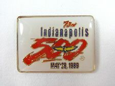 1989 Indianapolis 500 Event Collector Lapel Pin IndyCar Emerson Fittipaldi