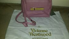 vivienne westwood leather pink cross body bag (Maddox) NEW AUTHENTIC