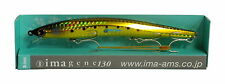 NEW Ima Imagene 130mm Sea Bass Lure Tight Wobbling & Roll Japan Color: GN13- 006