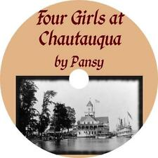 Four Girls at Chautauqua, Isabella Alden Pansy Audiobook on 1 MP3 CD