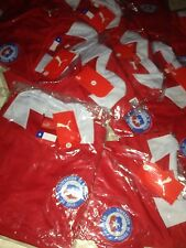 Chile National  team,18 jerseys uniform.Coaches Small,Medium & Large, adult red