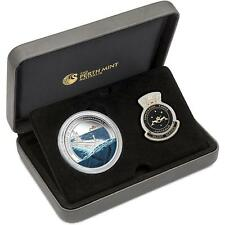 2014 $1 Centenary of  Australian Submarine 1oz Silver Proof Coin & Badge Set