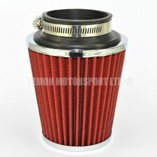 Performance Cone Air Filter Red Ideal For AUDI TT A1 S1 A3 S3 A4 S4 A5 (76074)
