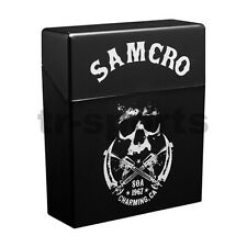 License 1x Sons of Anarchy Samcro Cigarette Carry Case For Birthday Xmas Gift