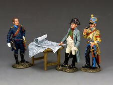 King and Country Napoleon's Imperial Guard The Emperor & His Aide de Camps NA375
