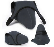 Neoprene Protector Cover Case Bag for Nikon D7000 D5100 D5200 D5300 camera (L)