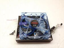 "1 PC New 120mm 12cm 6.5"" Blue 4 LED LEDs Case Power Supply Fan 3/4 Pin DC 12V"