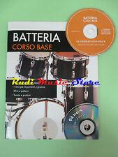 SPARTITO + CD esercizi BATTERIA CORSO BASE NAUMANN 94track no mc lp dvd