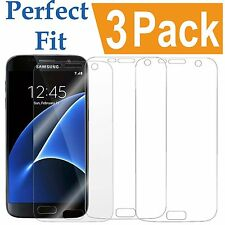 3 Pack HD Ultra Clear Screen Protector Film Cover Shield For Samsung Galaxy S7