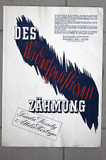 20380 FILM PLAKAT Des Widerspenstigen Zähmung 1939 Paula Wellely Attila Hörbiger