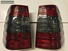 Mercedes Benz W124 S124 W124T Wagon 5D RED SMOKE REAR TAIL LIGHTS Rückleuchten