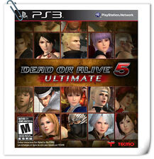 PS3 Dead or Alive 5 Ultimate Sony PlayStation Fighting Games Koei Tecmo