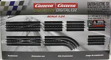 CARRERA 30367 EXTENSION SET 1 1/24 1/32 SLOT CAR TRACK 7 PIECES