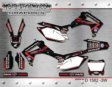 Honda CRf 450 R 2013 up to 2016 graphics decals sticker kit Moto StyleMX
