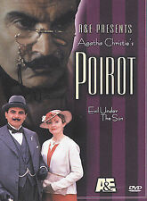 Hercule Poirot - Evil Under the Sun (DVD, 2002) David Suchet A&E Agatha Christie
