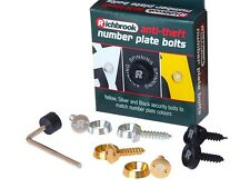 Richbrook Anti-Theft Number Plate Bolts Fittings For Car Van