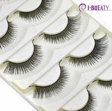 5 Pairs Super Natural False Eyelashes Handmade Fake Eye Lashes 11#