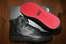 NEW NEW SUPRA VAIDER BLACK BLACK RED SURF BMX SNOW SKATEBOARD SPORTS SHOES 7.5