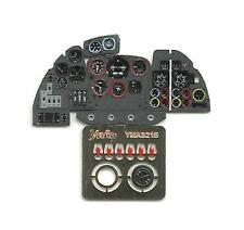 DORNIER Do-335 A/B H PHOTO-ETCHED, COLORED, 3D INSTRUMENT PANEL TO HK #3215 YAHU