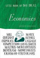 ECONOMICS Little Book of Big Ideas Mathew Forstater Hardback Book Marx Keynes VG
