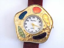 Large Ladies Pierre Nicol Fashion Wristwatch Easy Read Quartz