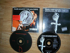 RAGE AGAINST THE MACHINE 2 x CD SINGLES LTD ED EXC