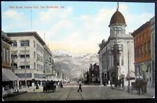 SAN BERNARDINO CA ~1900's Third Street ~ HOROWITZ DRUGS ~ BRADLEYS