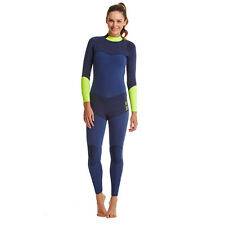 Quiksilver Roxy Womens Blue and Green XY 3/2MM Fullsuit Size 8 New $329