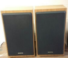 Kenwood KS-H31 2 Way 2 Speaker System Wood Cabinet Stereo Speakers 100W Tested