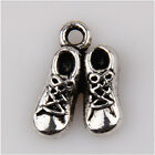 35 Casual shoes Tibetan Silver Charms Pendants Jewelry Making Findings EIF0772