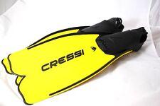Cressi aletas Rondinella, amarillo, talla 43/44 * nuevo *