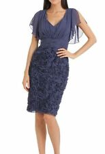 Rosette Embellished Dress by JS Collections - Size 4 _ $199