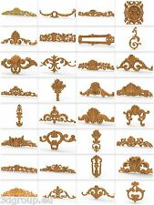 32 pcs  3d Relief Model STL for Router Engraver Mill Woodworking