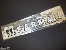 NEW FARMALL / McCORMICK TRACTOR DECAL SET D KIHCSMD FREE SHIPPING