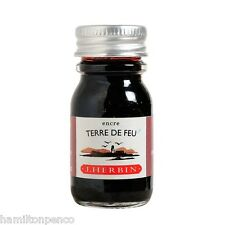 J HERBIN 10ml INK BOTTLE - 30 colours available in various quantities