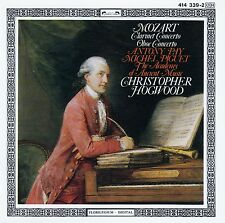 MOZART: CLARINET CONCERTO - OBOE CONCERTO / PAY - PIGUET - AAM - HOGWOOD / CD
