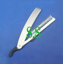 Stainless Steel Barber Thinning Straight RAZOR Shaving Hair Cut Sharper B-755