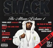 SMACK, The Album Vol. 1, CD/DVD VARIOUS ARTISTS Audio CD