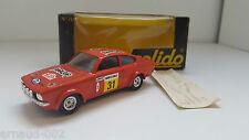 Solido - 70 - Opel Kadett coupé GTE Rallye ancienne en boîte 1/43