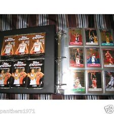 06-07 Topps Chrome Complete Basketball Set 1-210 (Includes Autos & Refractors)