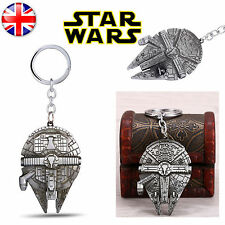 Star Wars Millennium Falcon Han Solo Chewbacca Destroyer Keyring Keychain Metal