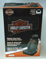 Officially Licensed Harley-Davidson Sideless Seat Cover by Plasticolor