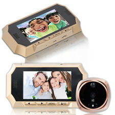 "4.3"" LCD Peephole Viewer Bell Door Eye Doorbell Color Home Security  IR Camera"