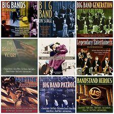 9 BIG BAND CD LOT Woody Herman,Glenn Miller,Bing Crosby,Dinah Shore,Fred Astaire