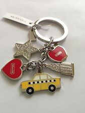 NWT! Coach New York City Keychain Key Fob. Great Gift or Accesory for your bag.